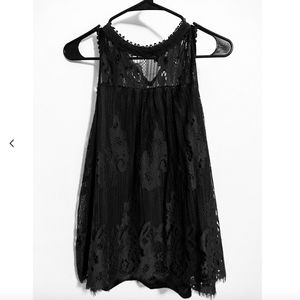 Halter Lace Tank Top